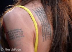 tennessee williams idézetek Velvet   Celeb   Híresek, tetováltak, nők   felismeri őket?