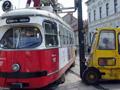 Kisiklott egy 2-es villamos Miskolcon
