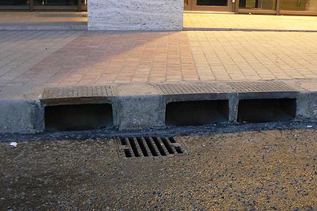 Kombinált víznyelés a Lánchíd utcában (Forrás: FCSM Zrt.)