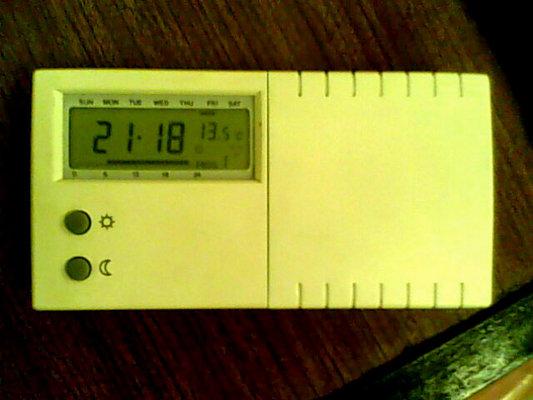 Szeptember 19. este f�l 10, 13,5 fok az �lt�z�ben