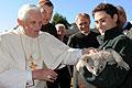 Állatokat fogadott XVI. Benedek pápa