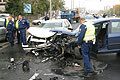 Hat autó ütközött össze