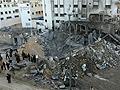 Bombázták a Gázai övezetet