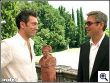 Ocean's Twelve: Cassel és Clooney
