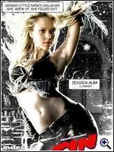 Jessica Alba a Sin City plakátján