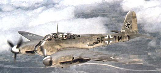 A német és a magyar légierő használta, a japán tesztelte