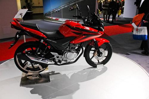 CBF 125 - Köln egyetlen Honda újdonsága