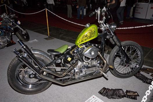 A kiállítás legszebb motorja - nézze meg a többit customot is!