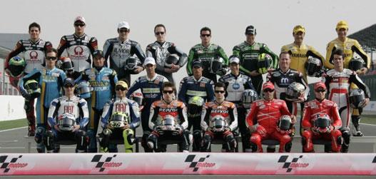 A MotoGP kategória versenyzői