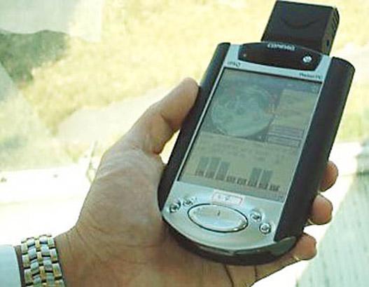 PDA-ba például kártyás GPS-antennát lehet tenni