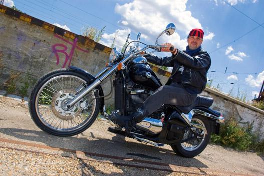 A Kawasaki a Harley Softail kópiája, csak sláger nem lett belőle