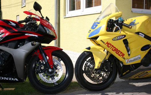 Új vs régi 600 RR. Egyik szebb mint a másik