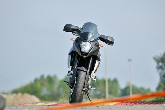 Megőrizte a KTM-re jellemző szögletes formákat