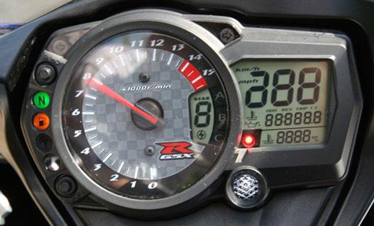 Három dimenziós fordulatszámmérő-háttér