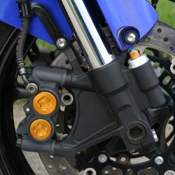 A Yamaha radiálisan felszerelt féknyerge