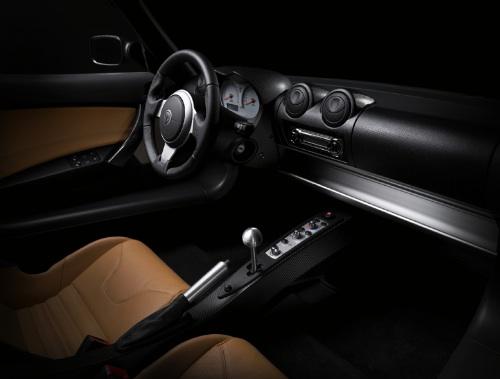 Tesla Roadster beltere. Forrás: Tesla Motors