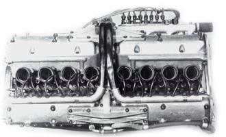Mercedes-Benz W196 motorja. Forrás: Grand Prix History