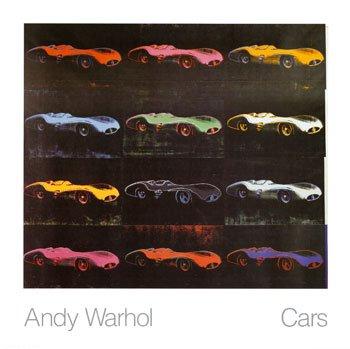 Andy Warhol színezett Mercedes-Benz W196-okat ábrázoló 'Cars' c. festménye