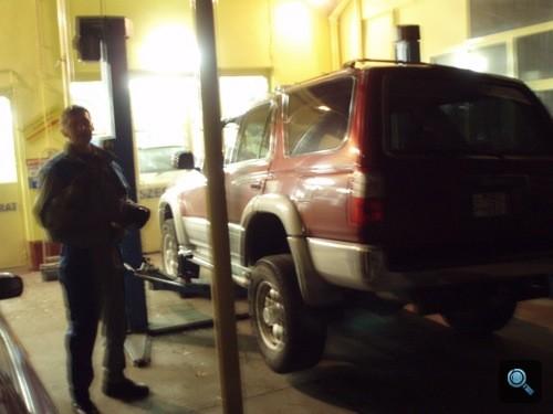 A 4Runner Mazda Mesternél. Fotó: Winkler Róbert