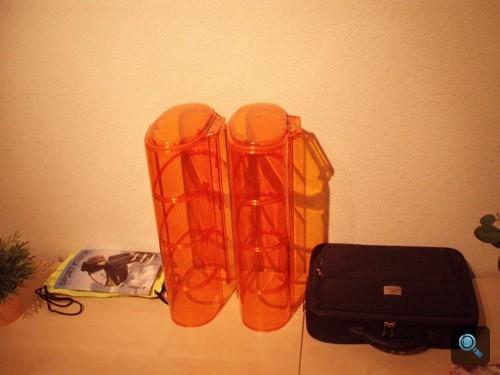 Narancssárga fényhídházak. Fotó: Winkler Róbert