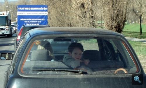 Vicces gyerek Sierrában 4/5. Fotó: Winkler Róbert