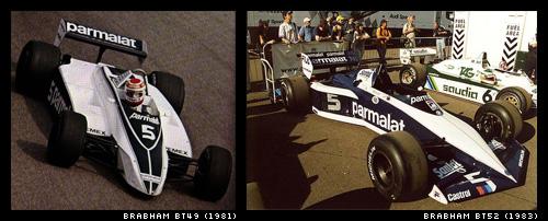 Brabham BT49 és Brabham BT52