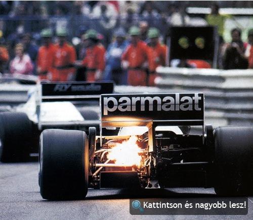 A Brabham BT52 az 1983-as monacói nagydíjon