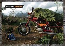 A Verhovina a Totalbike 2006-os karácsonyi üdvözlőlapján