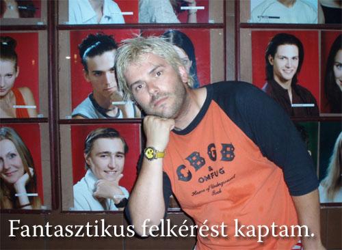 Winkler Róbert színészek portréi előtt