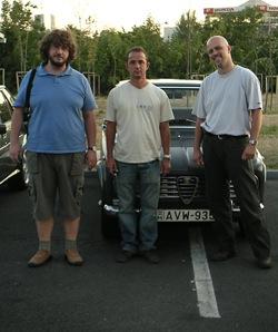 Három darab alfanörd: Szécsényi, Trefán, Csikós