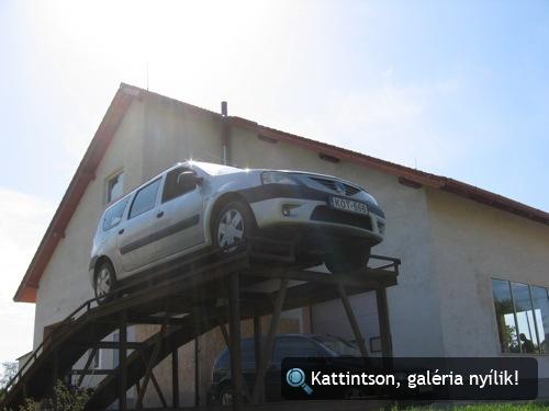 Dacia a rámpán