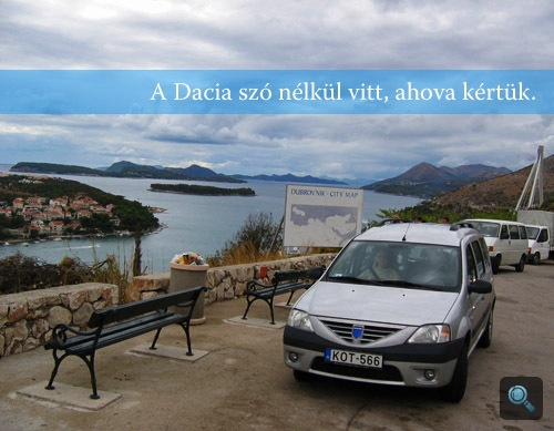 A Dacia Dubrovnikban