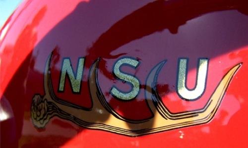 NSU motor tankja. Fotó: Baowah