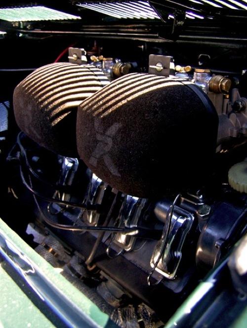 NSU motor légszűrője. Fotó: Baowah