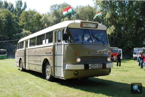 Ikarus 66 a Berlin-Moszkva járatról