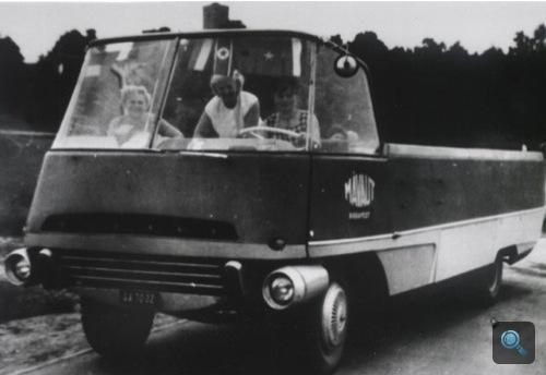 A MÁVAUT-Ikarus egy korabeli felvételen