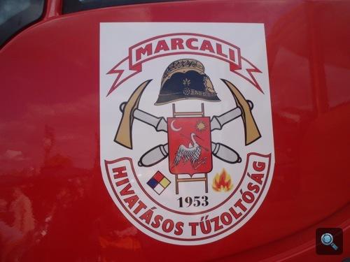 A Marcali Tűzoltóság Unimogja