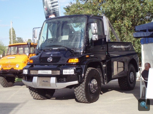 Brabus Unimog Black Edition