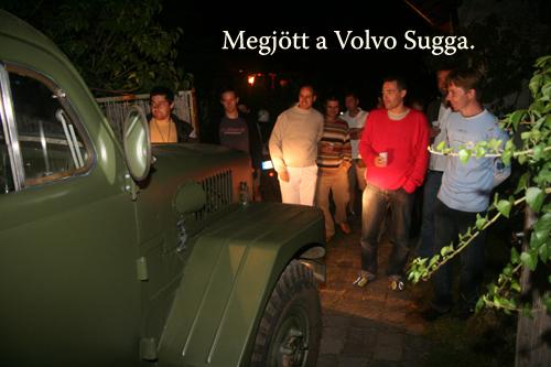 A klub és a Volvo Sugga