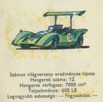 Lola T–163 autós kártya