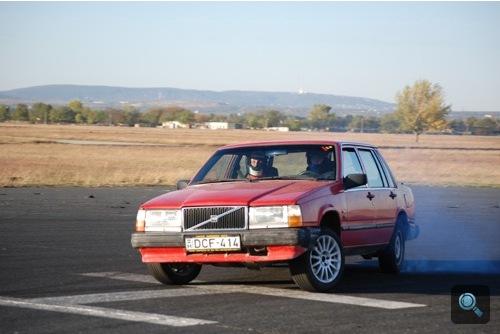 Driftelő Volvo 740