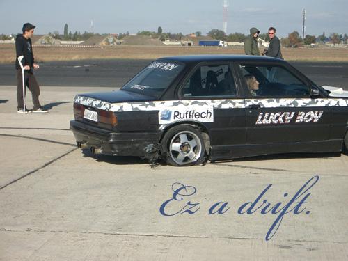 Kidurrant jobb hátsó kerekű BMW