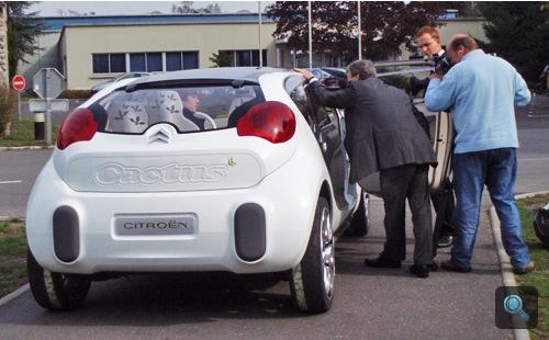 A Citroën C-Cactus hátulról