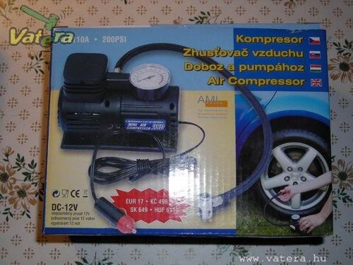 Félrefordított kompresszoros doboz. Forrás: Vatera.hu