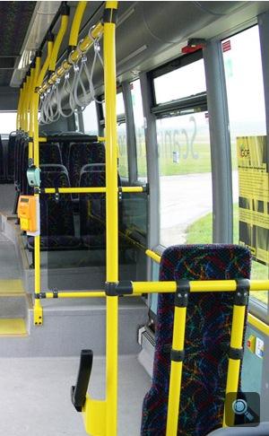 Scania Omnilink E95 busz beltere. Fotó: Égő Ákos