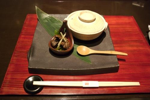 Japán étel egy sanghaji étteremben