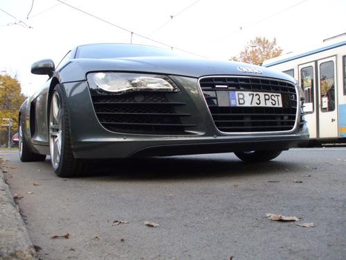 Audi R8 Debrecenben. Fotó: Gy. László