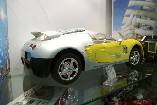 Távirányítós Bugatti Veyron hátsó lámpái