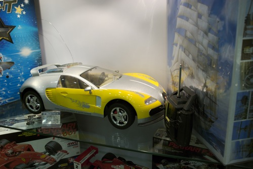 Távirányítós Bugatti Veyron elölről