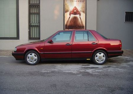 Lancia Thema 832. Lancia Thema 8.32 (con motor